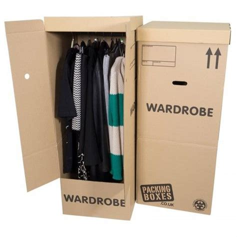 17 best ideas about wardrobe moving boxes on