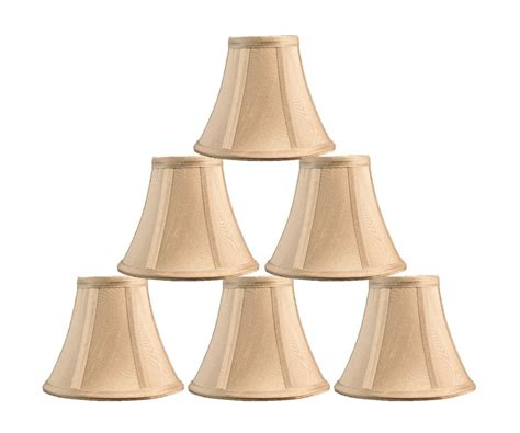Urbanest Chandelier Mini L Shade Softback Bell Silk 3 Small Shades For Chandelier