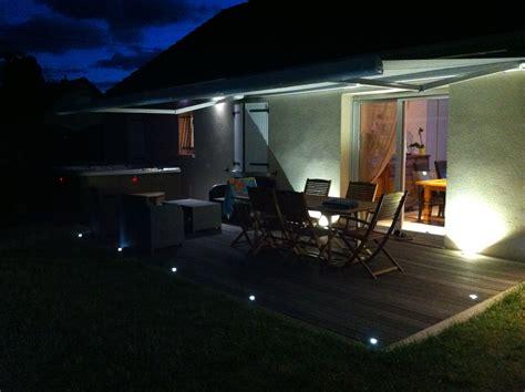 led terrasse eclairage terrasse ext 233 rieure avec spots led lc electricit 233