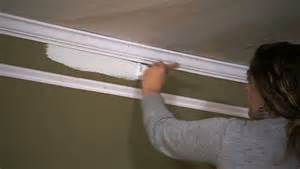 diy molding photos diy faux crown molding knock it off the live