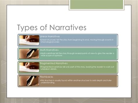 Types Of Writing Styles For Essays by Narrative Writing Style