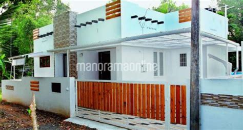 looking budget kerala 2 bedroom home design and plan