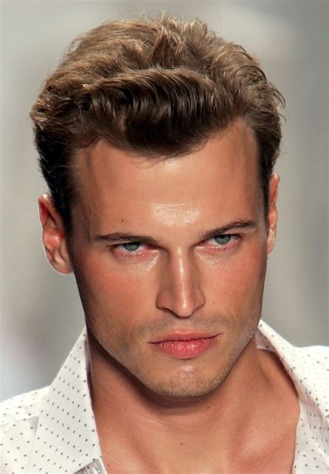 widows peak hairstyle hairstyles for older men with receding hairline men