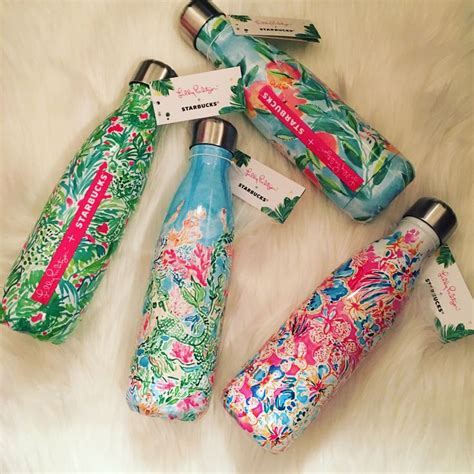 swell starbucks lilly pulitzer best 25 cute water bottles ideas on pinterest water