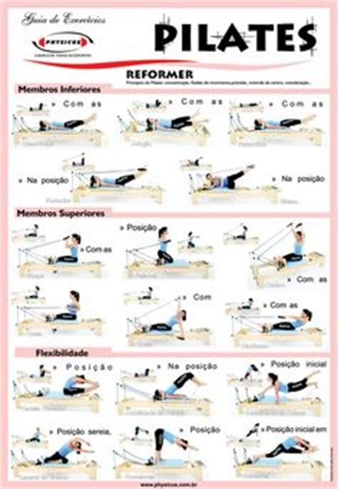 pilates exercises for beginners diagrams color illustrated poster with a complete workout of twenty