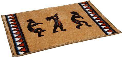 kokopelli rugs bath rug kokopelli southwest theme bathroom american indian collection luck ebay
