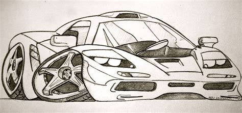 Sketches Of Cars ben knights car sketches