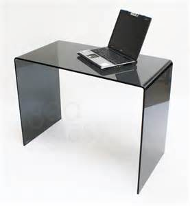 Small Black Glass Laptop Desk Modern Glass Computer Desk 15 Wonderful Small Glass