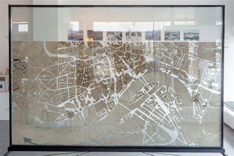 Livingroom In Spanish urban ant city this ant farm started out life as a map of