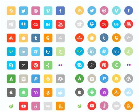 Icon Set by 22 Packs D Ic 244 Nes De R 233 Seaux Sociaux Au Top Pour Votre Site