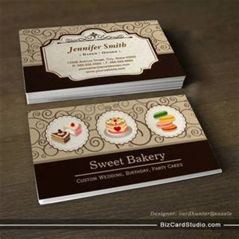 sweet bakery packaging design template white business card paper sweet bakery store custom cakes pastry macarons business