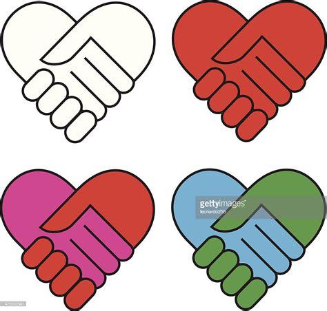 imagenes de simbolos amistad hand shake vector art getty images