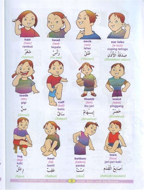 Bahasa Arab kamus bergambar bahasa arab indonesia inggris