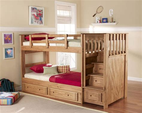 Bunk Bed Plans With Stairs Bunk Bed With Stairs Plans