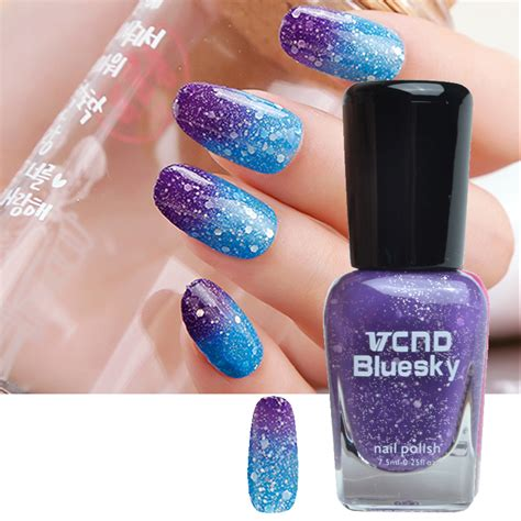 color changing nail 1bottle 7 5ml thermal temperature color changing nail