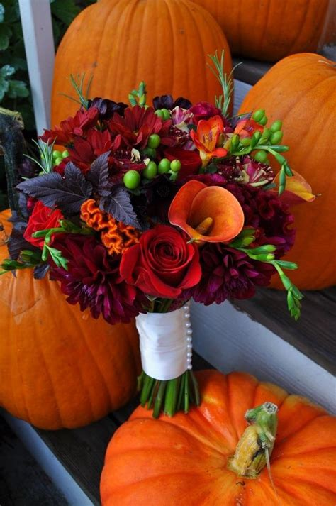 fall wedding bouquet these colors gorgeous getting married i just want this bouquet