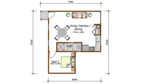 1 bedroom floor plan granny flat 1 bedroom granny flat designs 1 bedroom granny flat