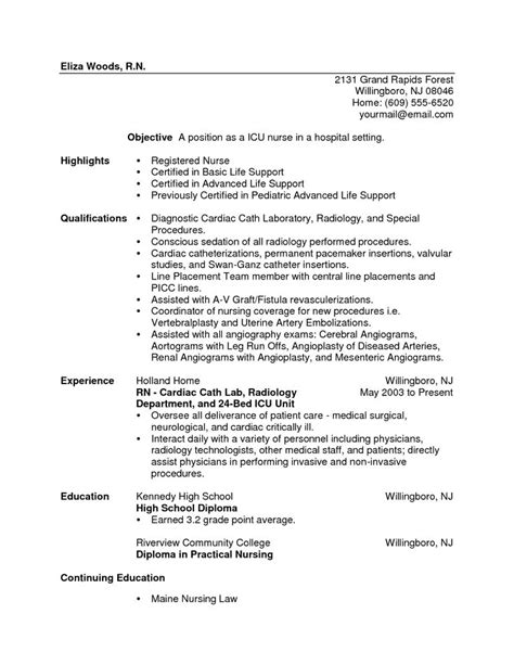 sle nursing resume new graduate 28 images new graduate lpn resume sle 28 images application