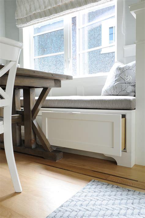 storage banquette small interior renovation home bunch interior design