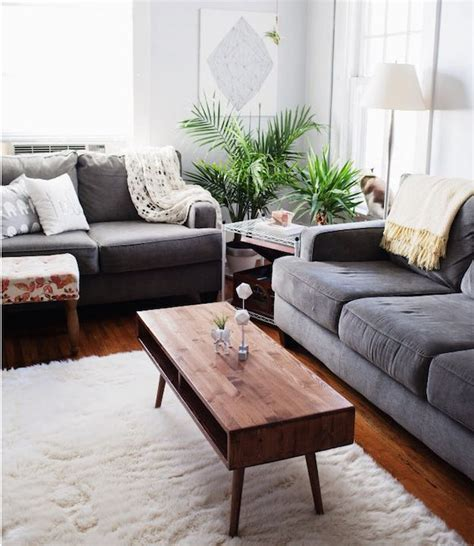 Coffee Tables For Small Living Rooms with 15 Narrow Coffee Table Ideas For Small Spaces Living Room Ideas