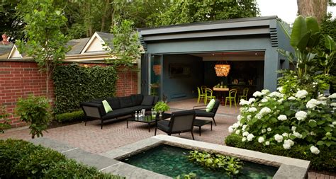 Backyard Covered Patio by Artistic Gardens Award Winning Toronto Landscaping