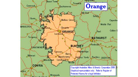 orange map orange map