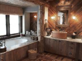 all you want to about rustic bathroom decor