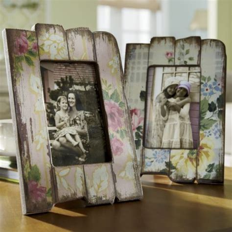 photo frame shabby chic can make out of old wood