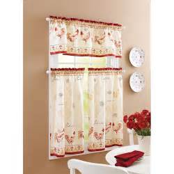 French country kitchen curtains for an elaborate home kitchen edit