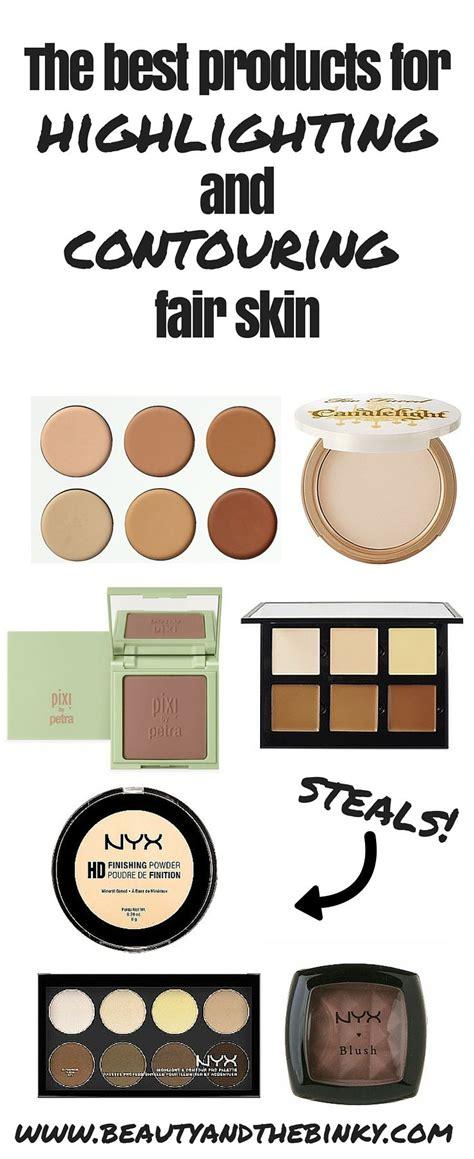 best contour for light skin best 25 highlight contour makeup ideas on