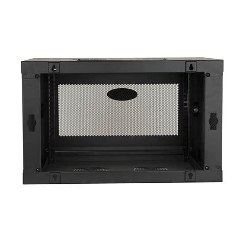 smartrack 6u wall mount rack enclosure tripp lite smartrack 6u low profile switch depth knock