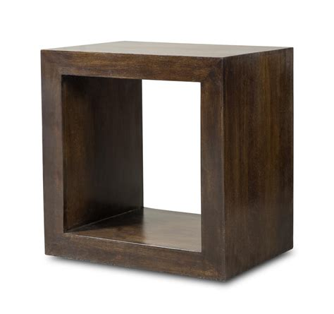 wood cube side table dakota mango cube side table casa furniture uk