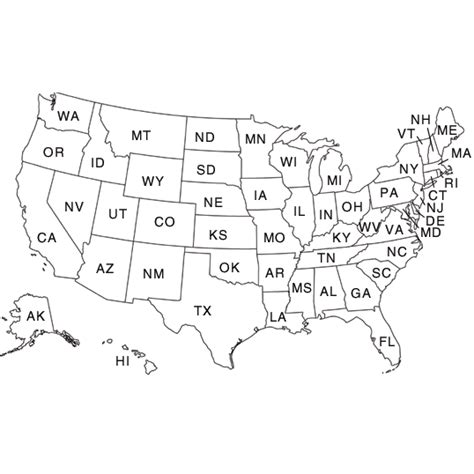 labeled united states map coloring page printable labeled united states states map coloring page