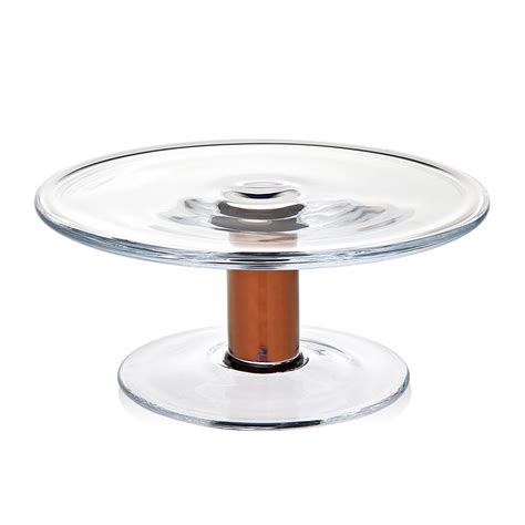 10 Inch Cake Stand - mandril copper 10 inch cake stand