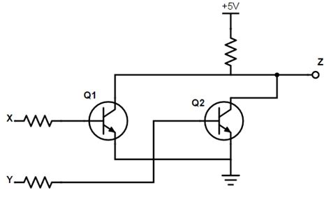 or gate schematic diagram introduction to logic gates