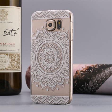 3d Flower List Swarovski For Samsung A3 2017 A320 1 flower henna elephant mandala sunflowe clear for