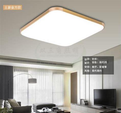 desain lu led untuk plafon lu led plafon super slim 48w 65x43cm white gold