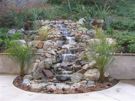 Rock Waterfalls For Gardens 25 Best Ideas About Garden Waterfall On Rock Waterfall Diy Waterfall And Garden