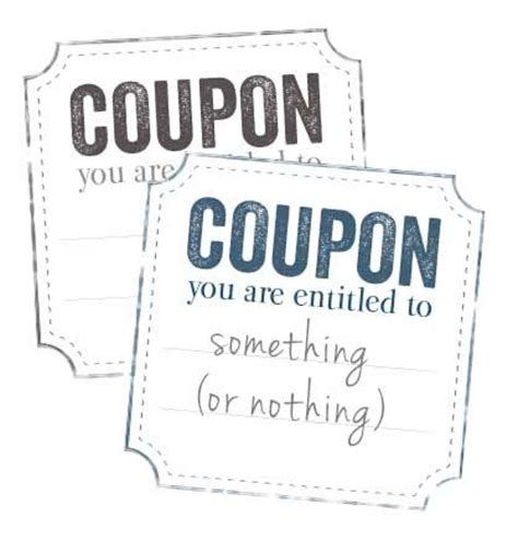 iou coupons printable iou coupon voucher getting ready for