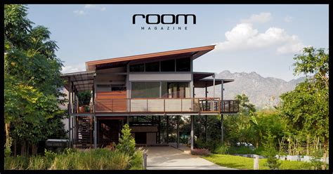 modern tropical house design modern tropical house บ านภ ภ ทรา room magazine