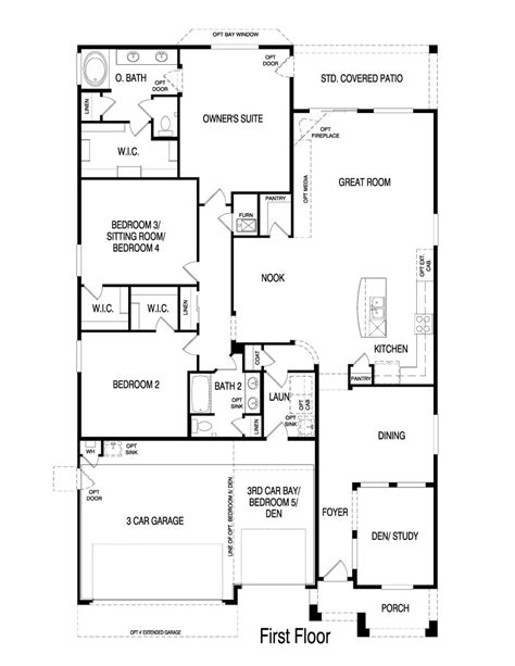 pulte homes floor plan pulte homes