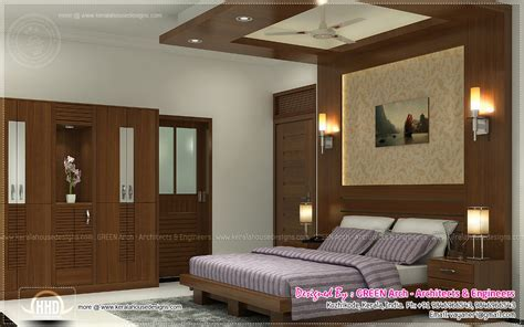 beautiful home interior designs  green arch kerala