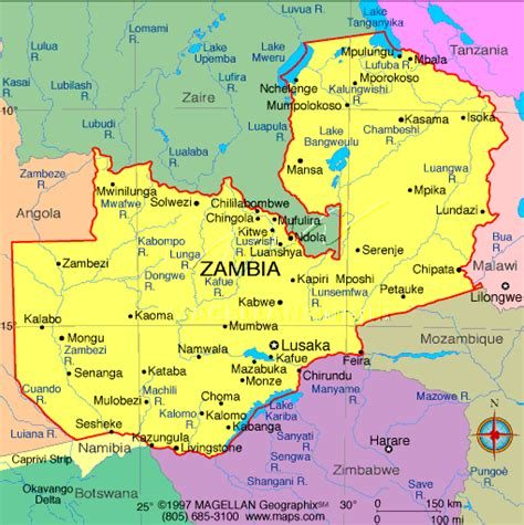 zambia map focus hiland soutumi born in lusaka zambia
