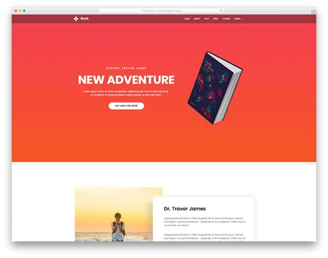 free templates for books websites book free book landing page website template colorlib