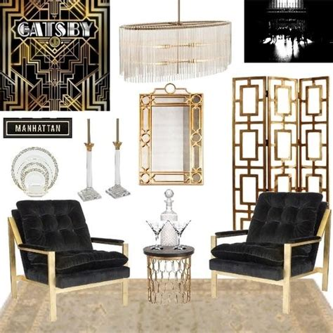 The Great Gatsby, Meredith Cook   design boards