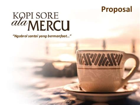 proposal membuat warung kopi proposal kopi ala mercu 03