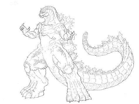 godzilla 1998 coloring pages free coloring pages of godzilla colorear