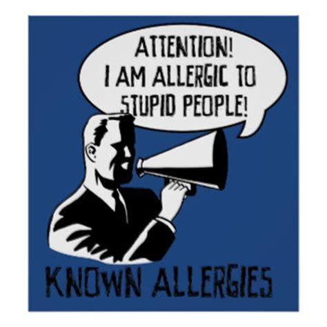 Alergi To Stupid stupid posters stupid prints prints poster designs
