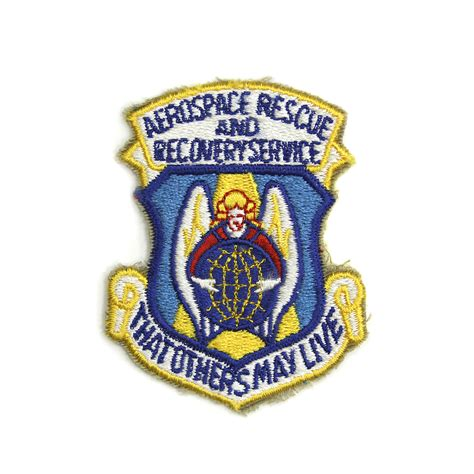 service patches aerospace rescue and recovery service patch air mobility command museum