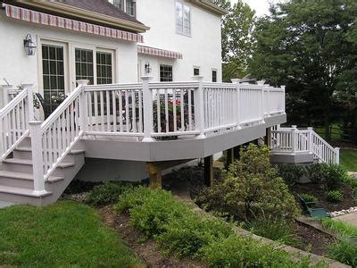 gray deck outdoor spaces add warmth with cool wood tones st